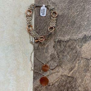 Free People Layered Choker Necklace